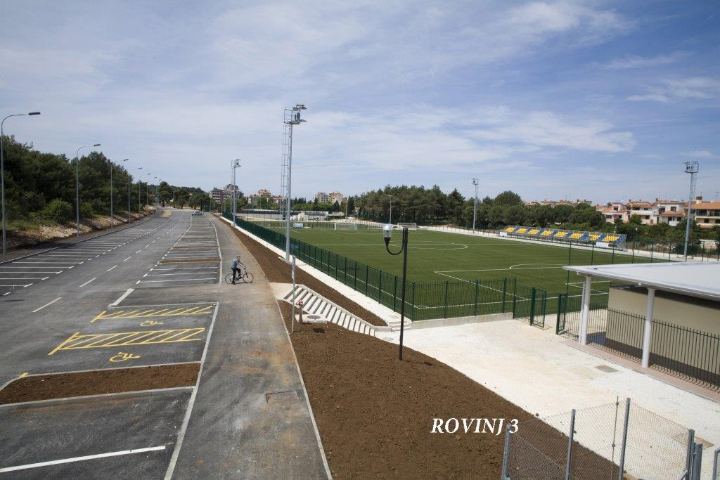 Rovinj Football field 4